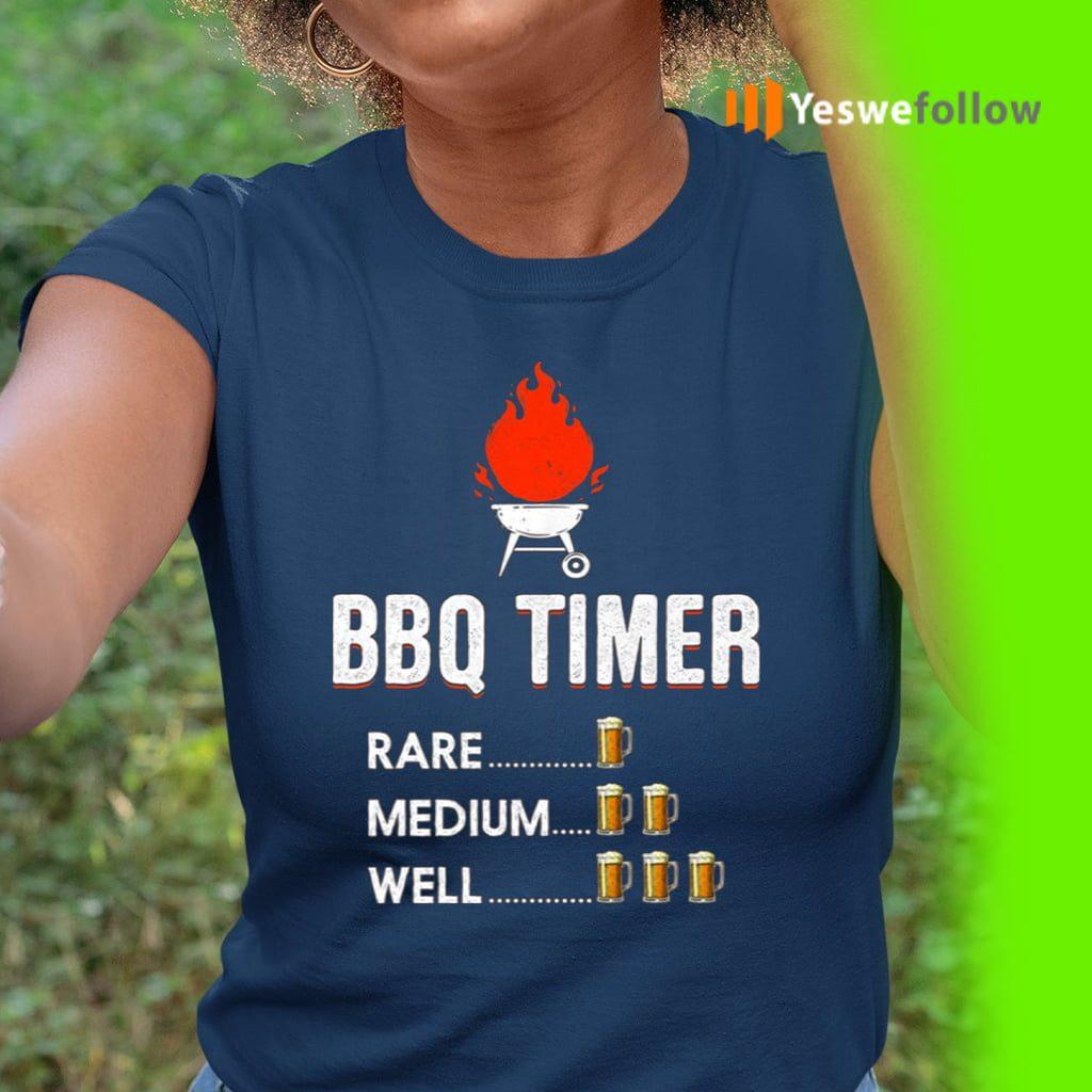 BBQ Timer Rade Medium Well Shirt