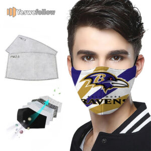 Baltimore Ravens Face Mask Baltimore Ravens USA Sport Mask