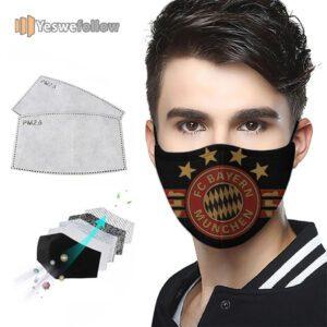 Bayern Munich Football FC 2021 Face Mask Bayern Munich Football FC Sport Mask