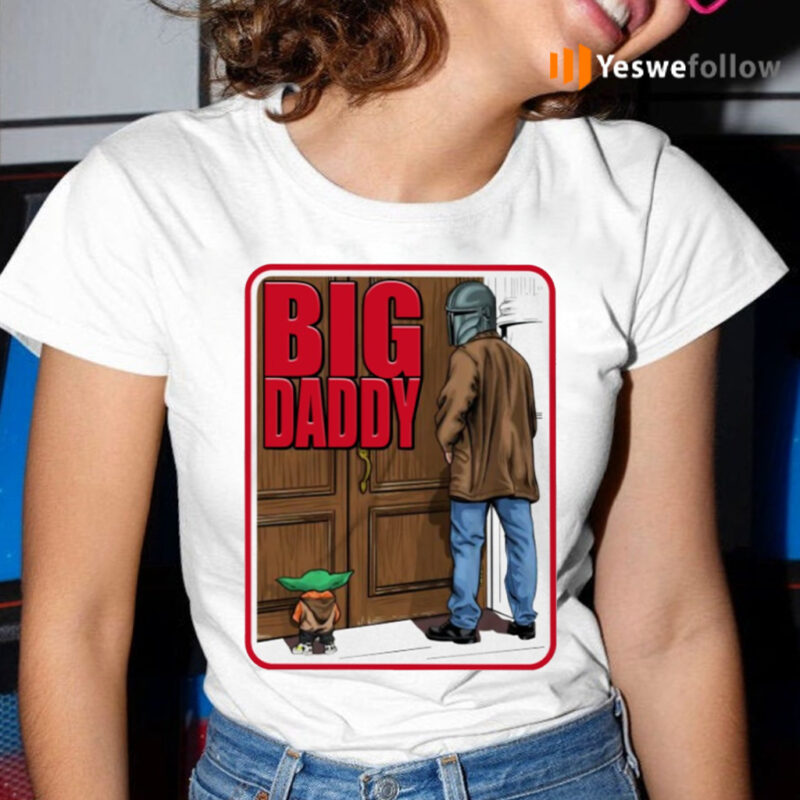 Big Daddy Baby Yoda Mandalorian Pee Shirt