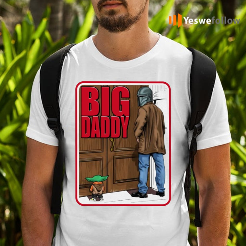 Big Daddy Baby Yoda Mandalorian Pee Shirts