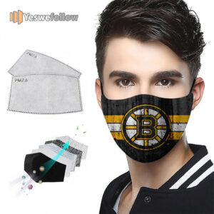 Boston Bruins Cotton Face Mask Boston Bruins Sport Mask