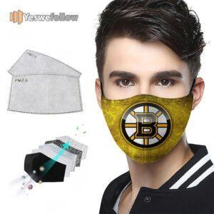 Boston Bruins Face Mask Boston Bruins USA Sport Mask