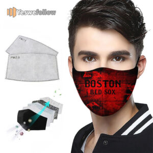 Boston Red Sox Face Mask Boston Red Sox USA Sport Mask