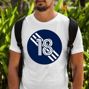 Brad Knighton Number 18 Jersey New England Revolution Inspired Shirt