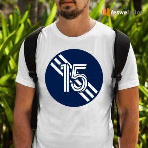 Brandon Bye Number 15 Jersey New England Revolution Inspired T-Shirts