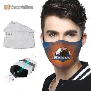 Buffalo Bisons Face Mask Buffalo Bisons Sport Mask