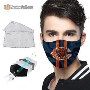 Chicago Bears Face Mask Chicago Bears Sport Mask
