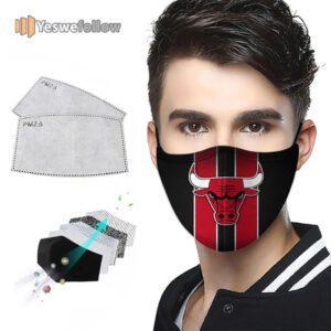 Chicago Bulls Face Mask Chicago Bulls Sport Mask