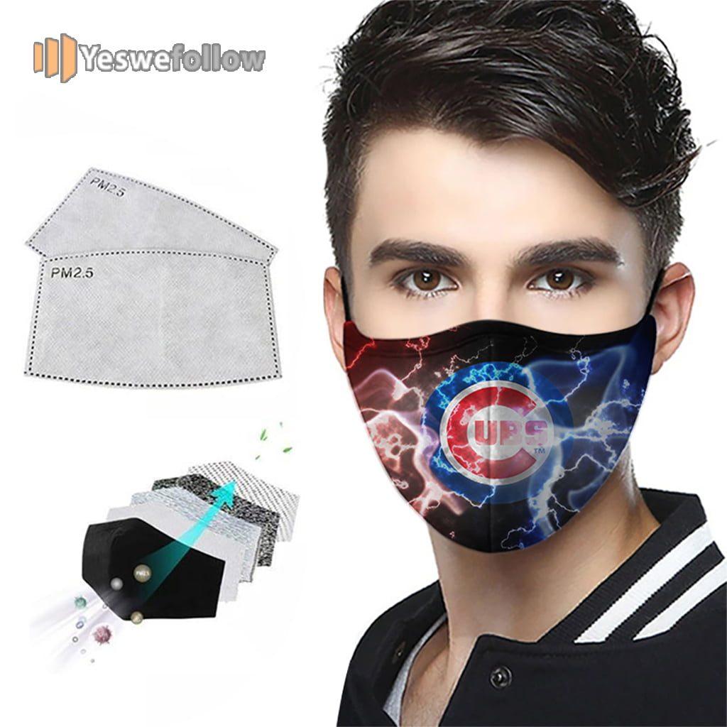 Chicago Cubs Face Mask Chicago Cubs 2021 Sport Mask