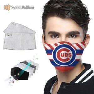 Chicago Cubs Face Mask Chicago Cubs Sport Mask