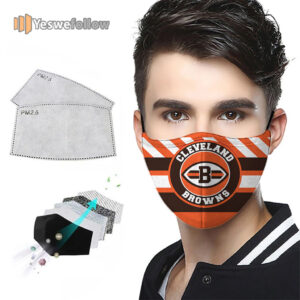 Cleveland Browns Face Mask Cleveland Browns Sport Mask