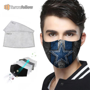 Dallas Cowboys 2021 Face Mask Dallas Cowboys Sport Mask
