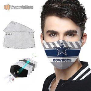 Dallas Cowboys Face Mask Dallas Cowboys 2021 Sport Mask