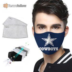 Dallas Cowboys Face Mask Dallas Cowboys Sport Mask
