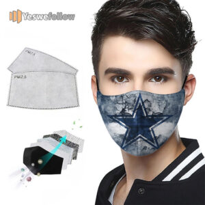 Dallas Cowboys Face Mask Dallas Cowboys US Sport Mask