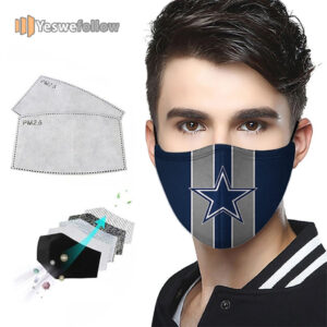 Dallas Cowboys US Face Mask Dallas Cowboys 2021 Sport Mask