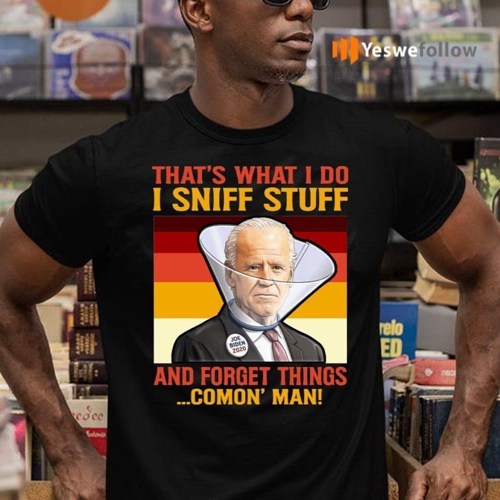 Dementia Joe Biden Sniffing Hair 2020 Shirt