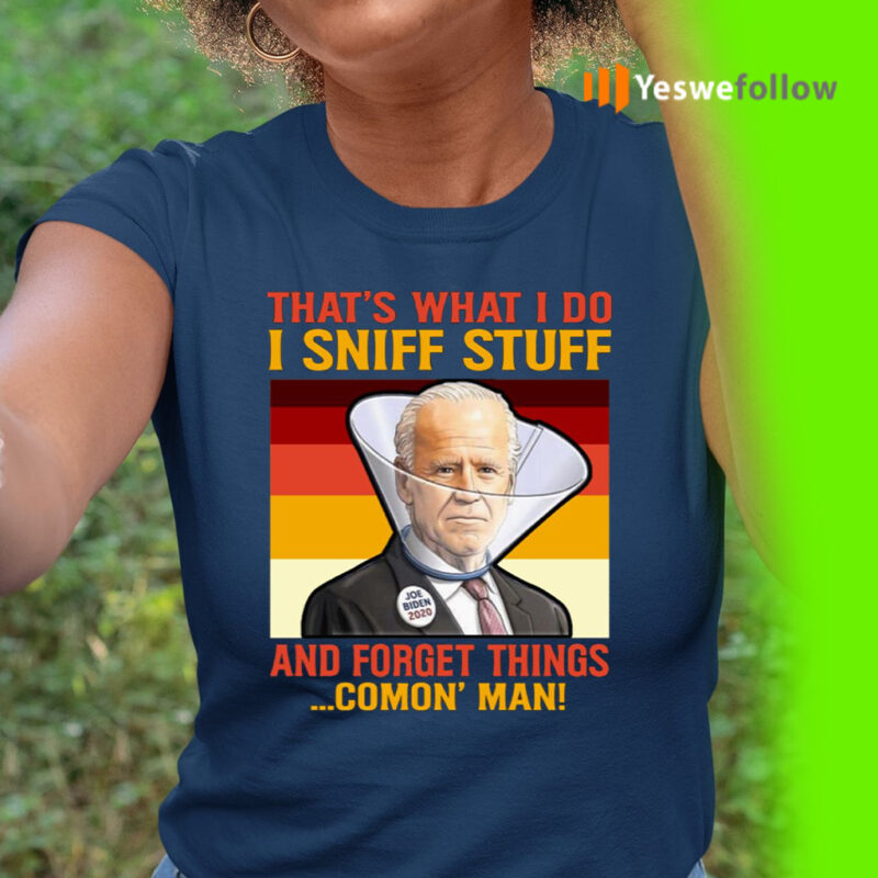 Dementia Joe Biden Sniffing Hair 2020 Shirts