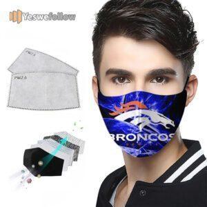 Denver Broncos Face Mask Denver Broncos US Sport Mask