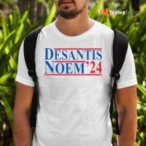 Desantis noem 24 shirts