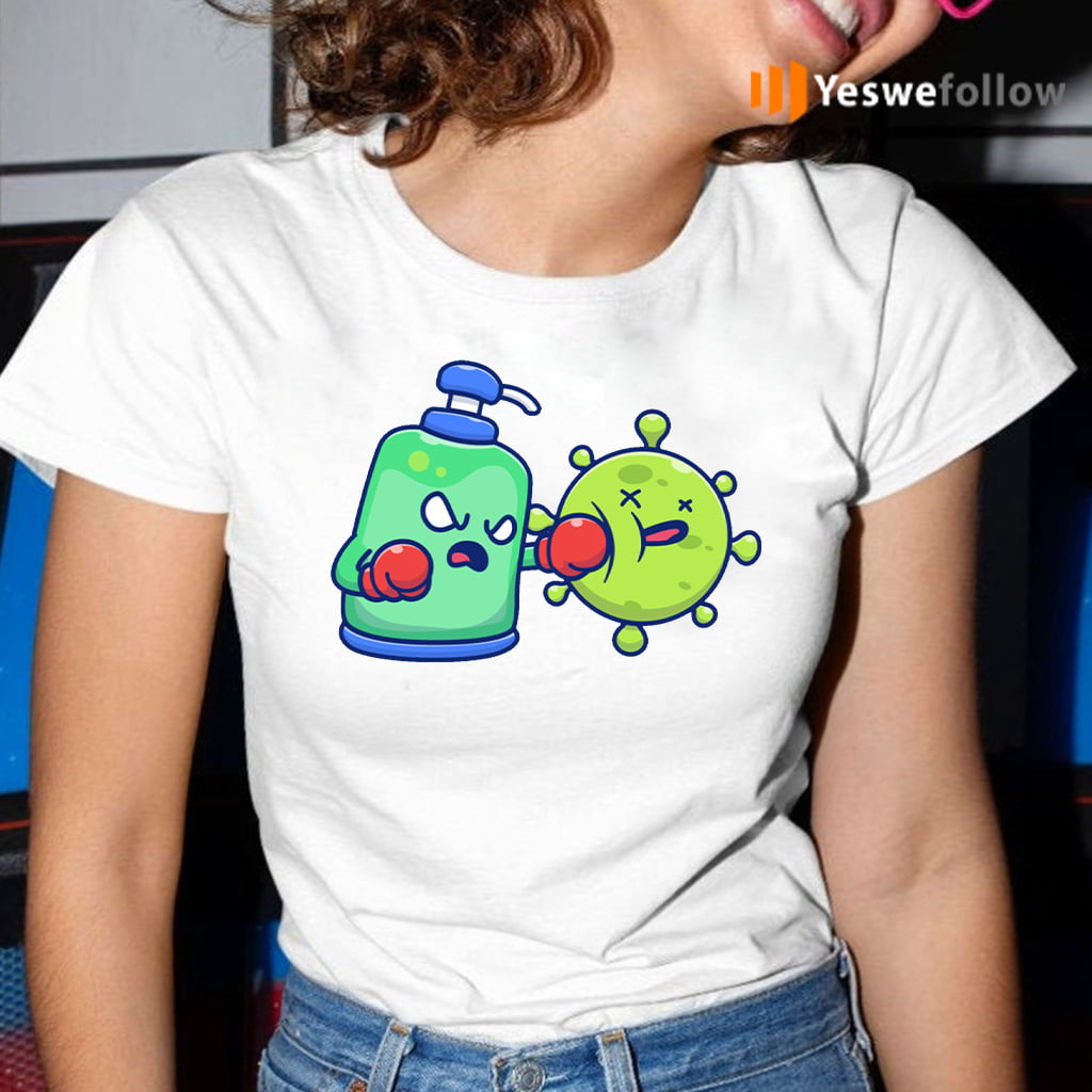 Desinfectant fight coronavirus T-Shirt