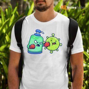 Desinfectant fight coronavirus T-Shirts