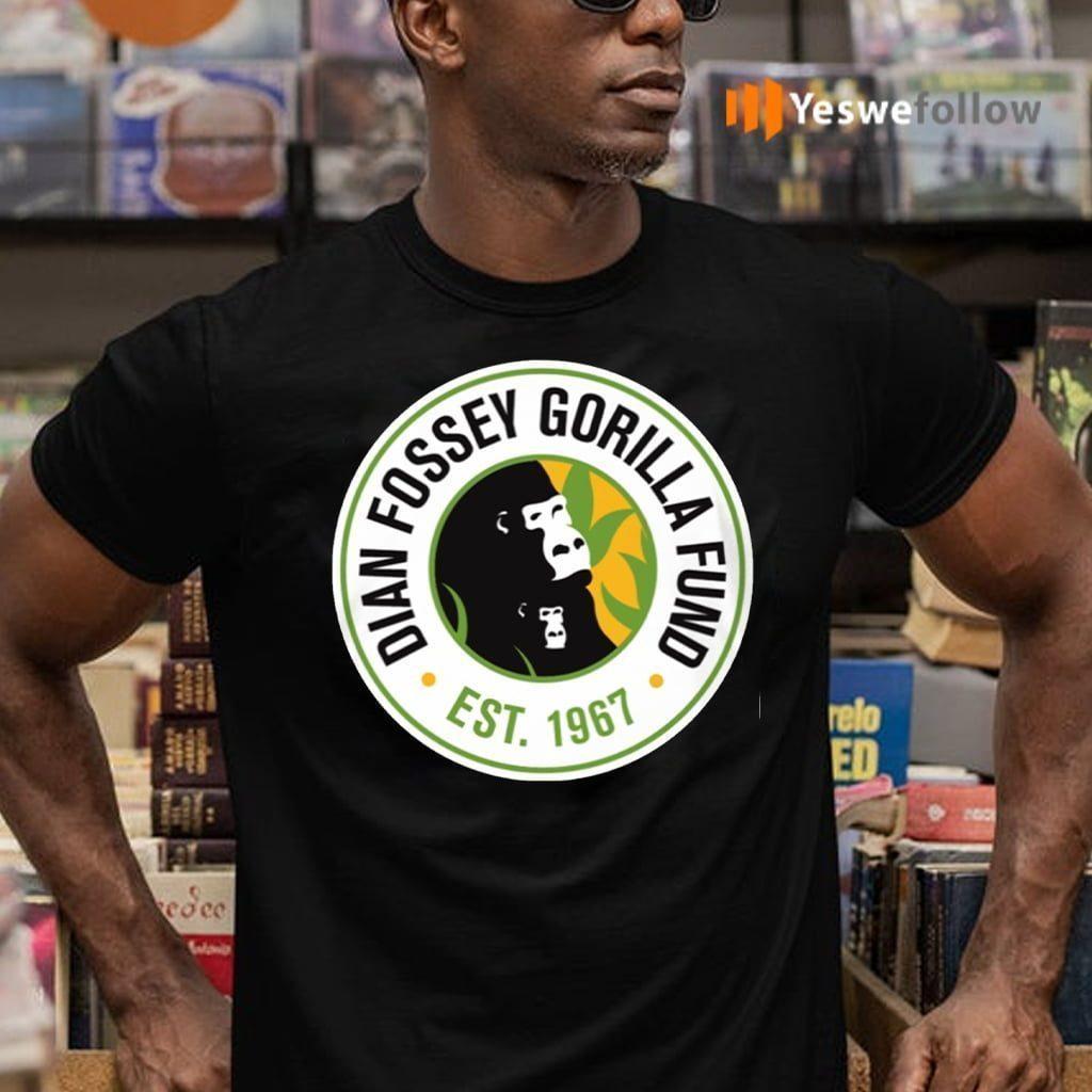 Dian Fossey Gorilla Fund Est 1967 T-Shirts