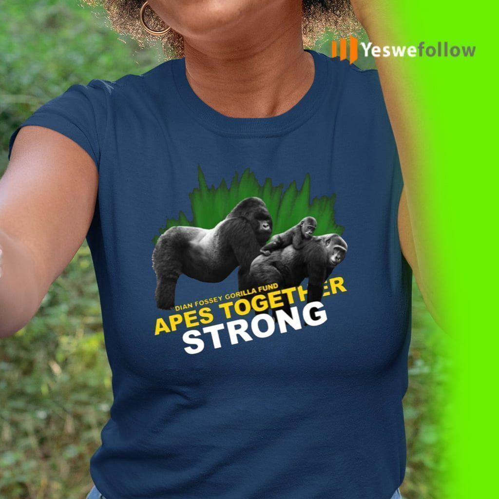 Dian Fossey Gorilla Fund Shirt