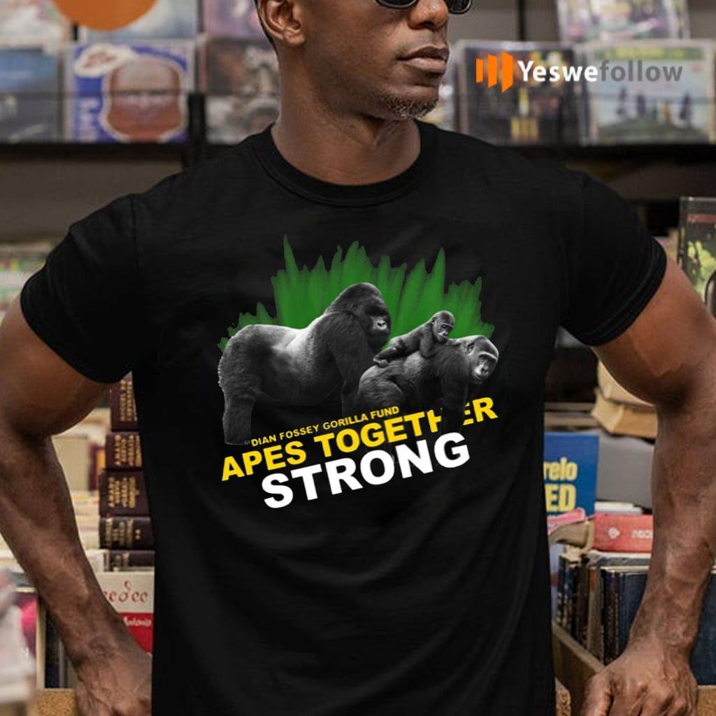 Dian Fossey Gorilla Fund Shirts