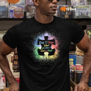 Don't judge what you don't understand autism tshirt