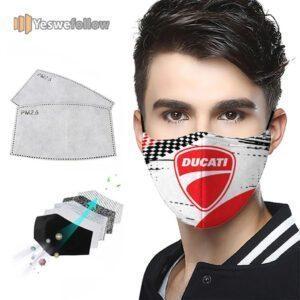 Ducati 2021 Face Mask Ducati Sport Mask