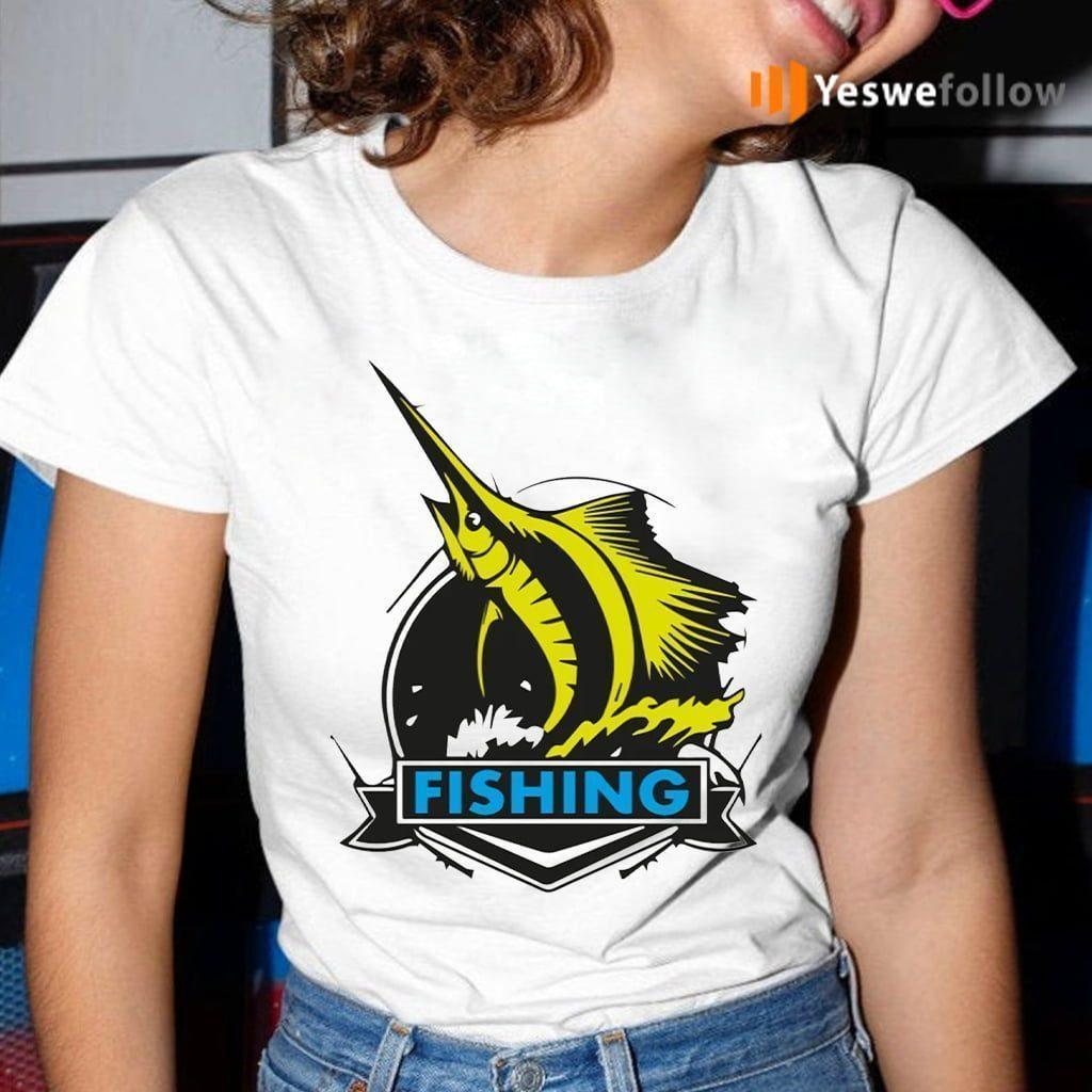 Fishing On Rough Seas T-Shirt