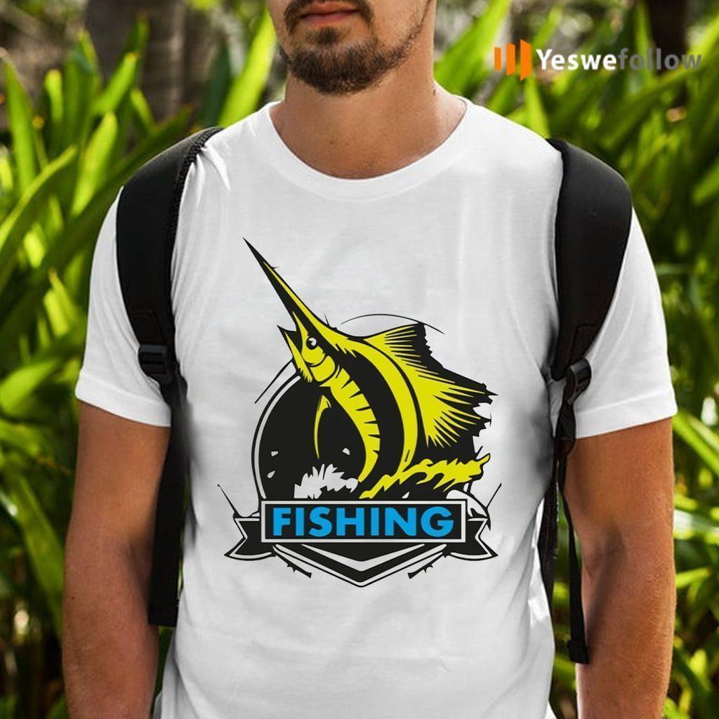 Fishing On Rough Seas T-Shirts