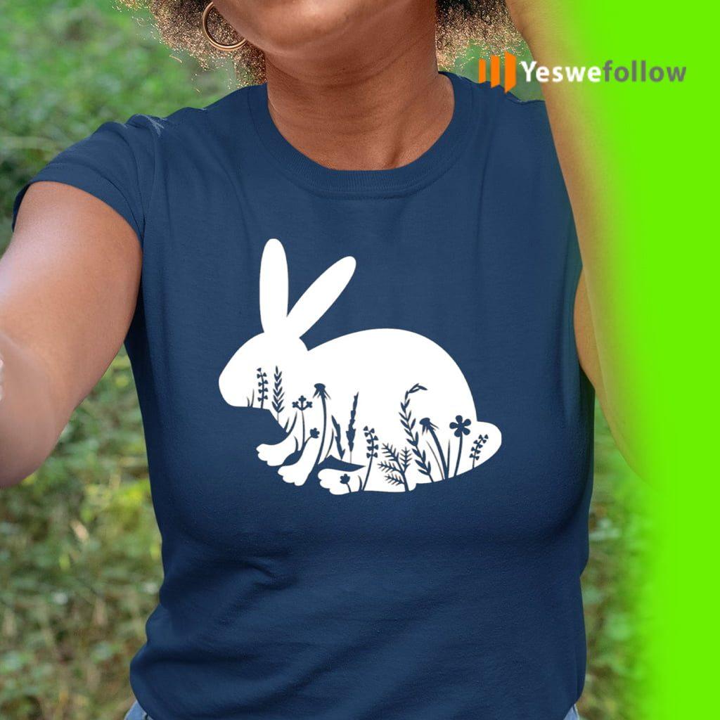 Floral Rabbit TeeShirts