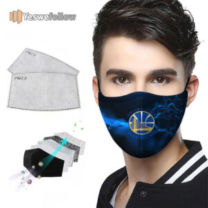 Golden State Warriors Face Mask Golden State Warriors 2021 Sport Mask