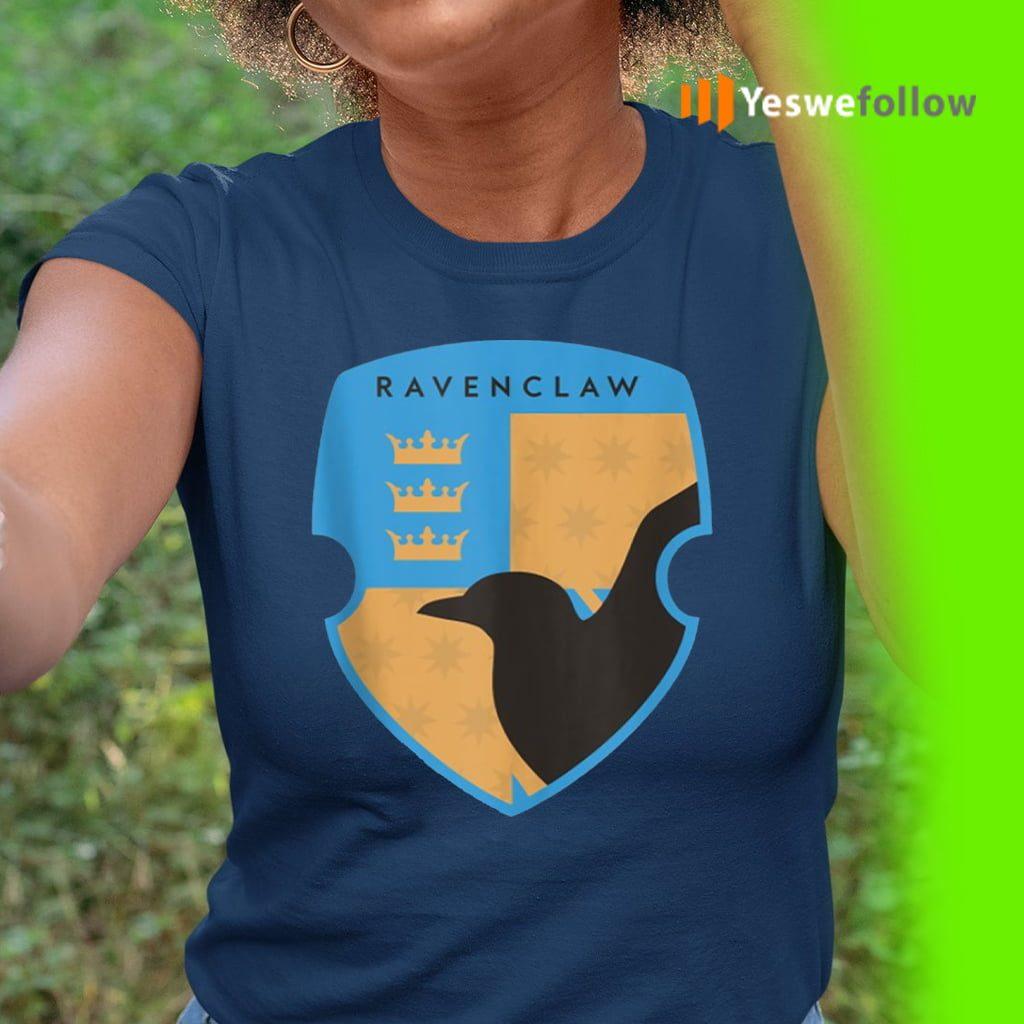 Harry Potter Ravenclaw Four Square Shield Crest Shirt