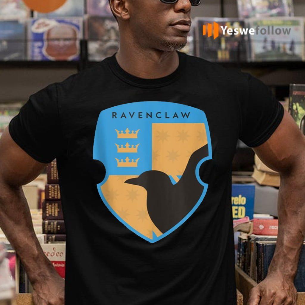 Harry Potter Ravenclaw Four Square Shield Crest Shirts