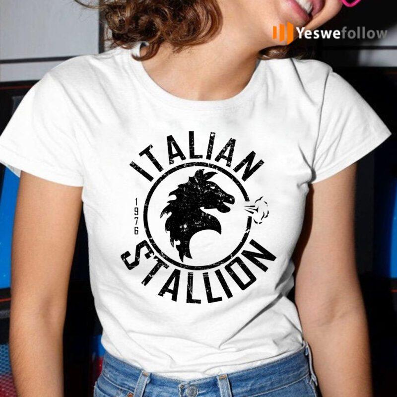 Italian Stallion Distressed T-Shirt