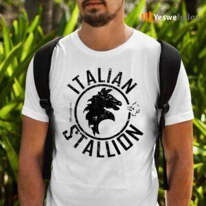 Italian Stallion Distressed T-Shirts