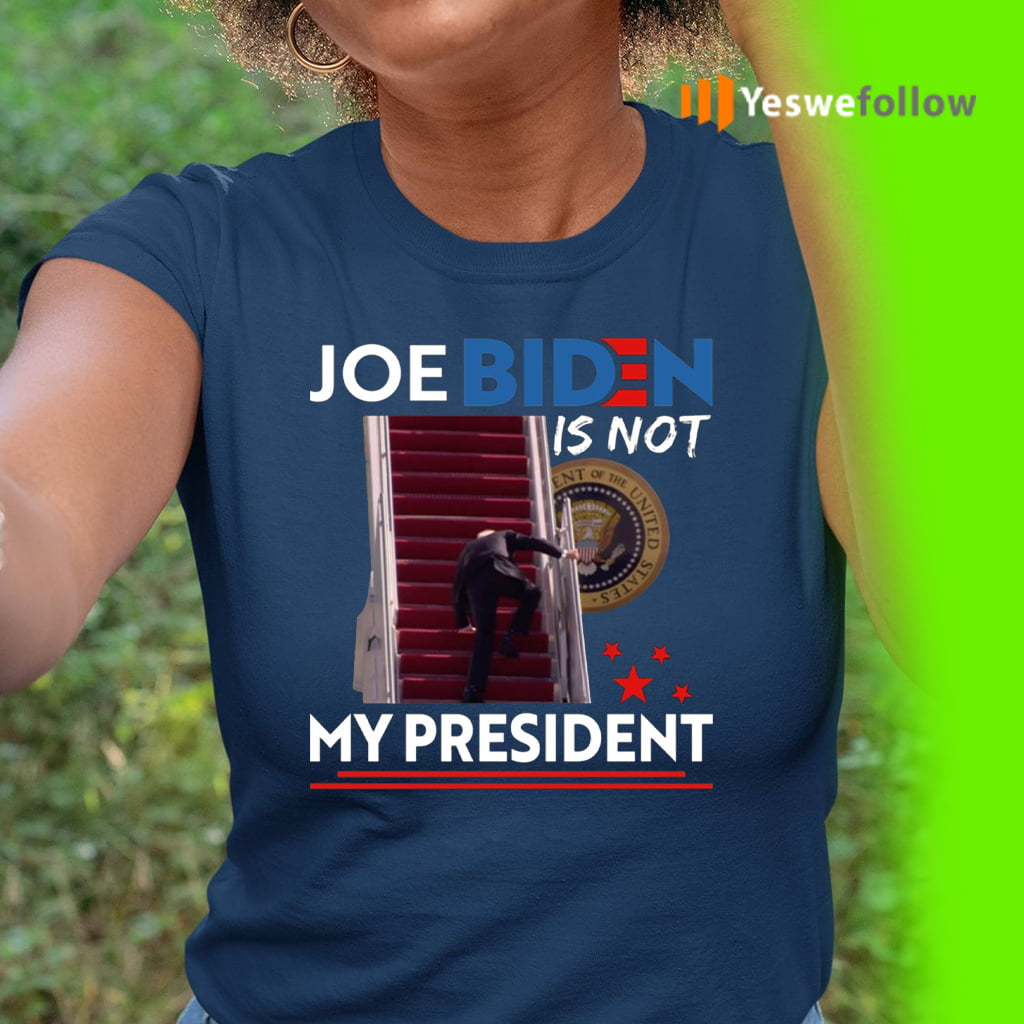 Joe Biden Not My President Buck Fiden Shirt