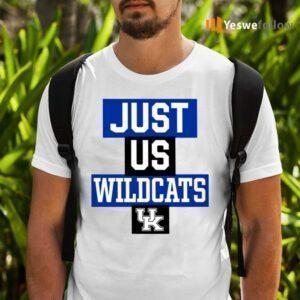 Just Us Kentucky Wildcats TeeShirt