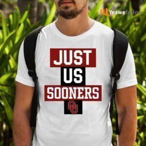 Just Us Oklahoma Sooners TeeShirt