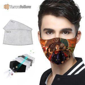 Justice League 2021 Face Mask Justice League Sport Mask