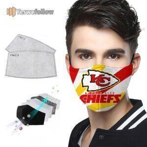 Kansas City Chiefs Face Mask Kansas City Chiefs 2021 Sport Mask