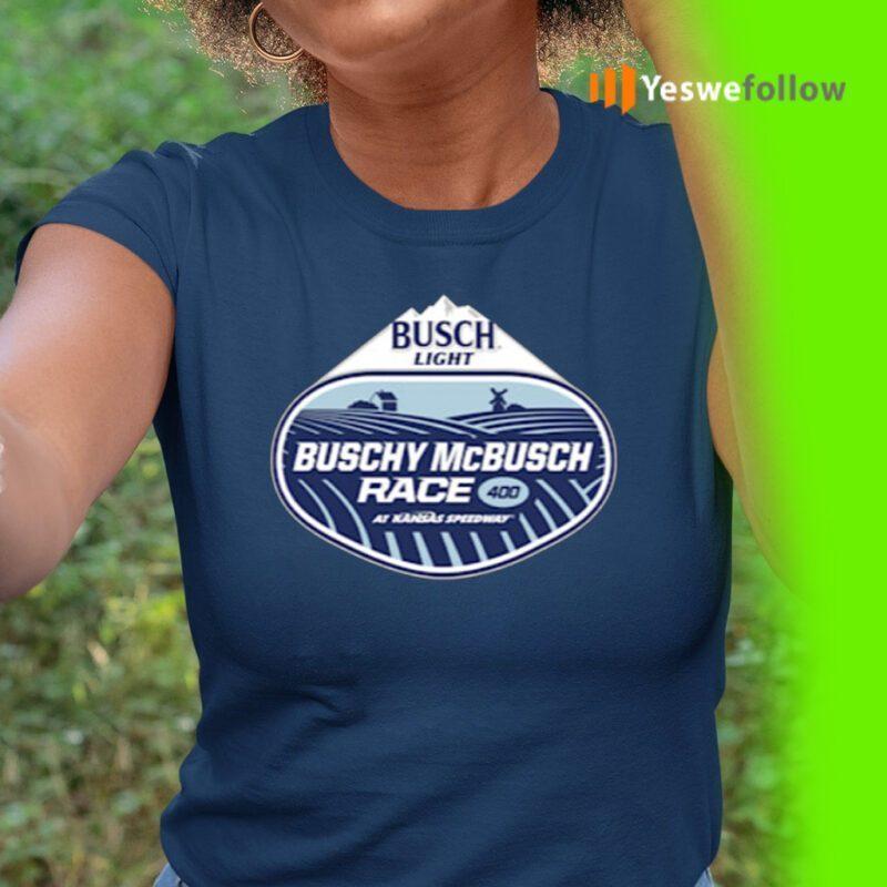 Kansas Speedway The Buschy McBusch Race 400 Shirts