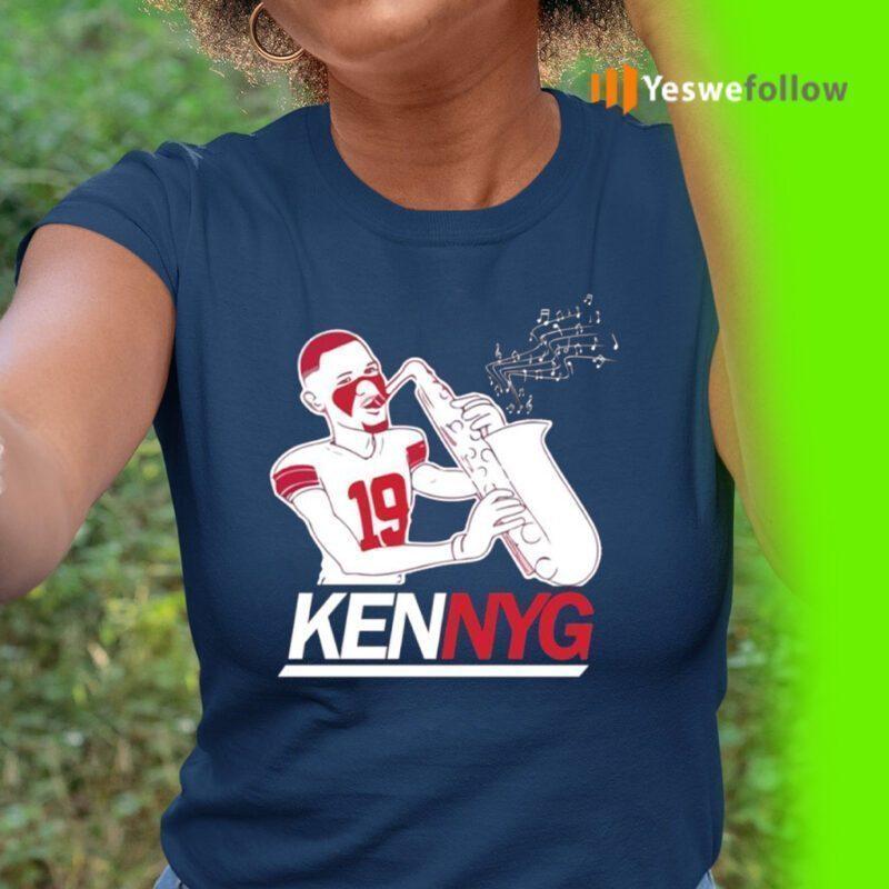 Kenny Golladay KennyG Saxophone TeeShirts