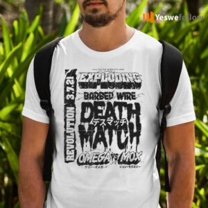Kenny Omega Vs Jon Moxley Exploding Barbed Wire Death Match T-Shirts