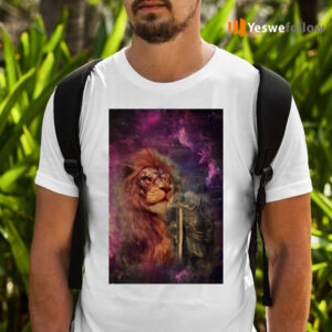 Knight warrior and Lion Shirts