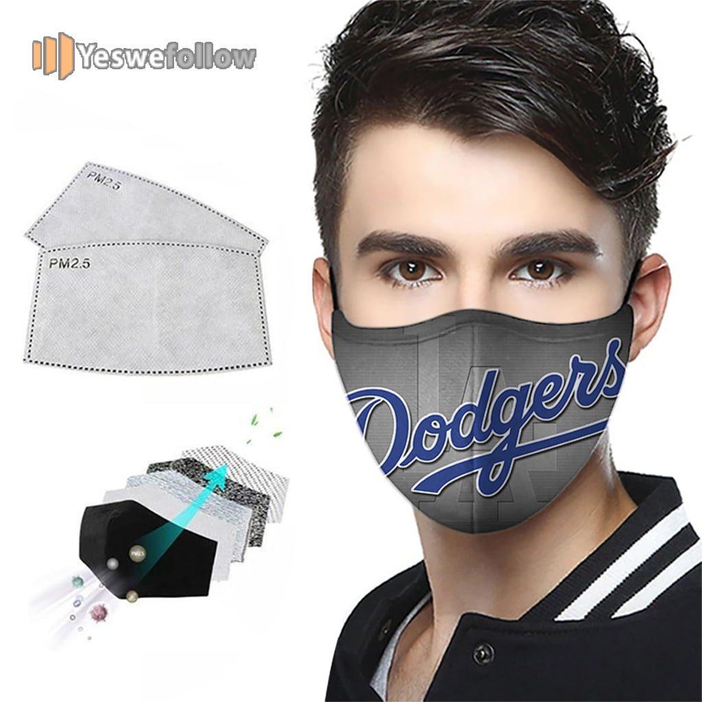 La dodgers Face Mask La dodgers Sport Mask